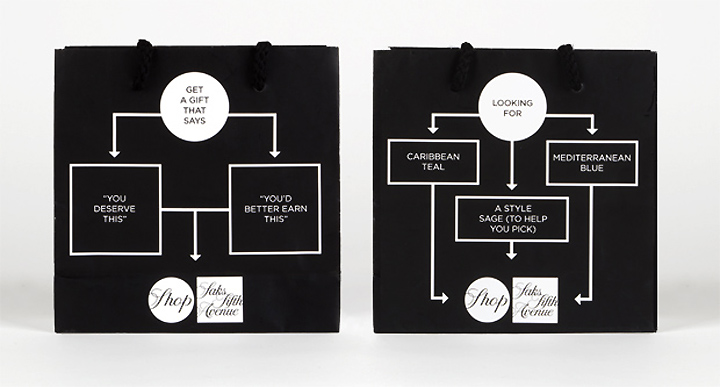 Shop Saks campaign by Pentagram 03 Shop Saks campaign by Pentagram