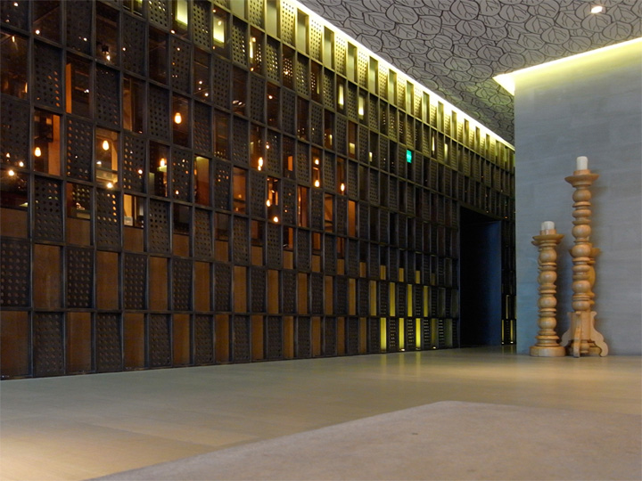 The Opposite House hotel by Kengo Kuma Beijing