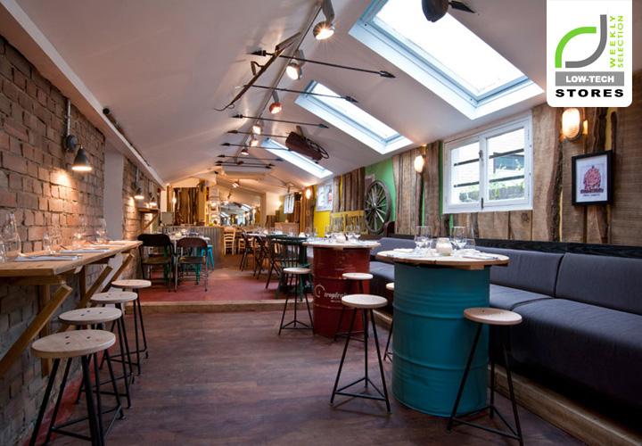 LOWTECH DESIGN The Shed restaurant London
