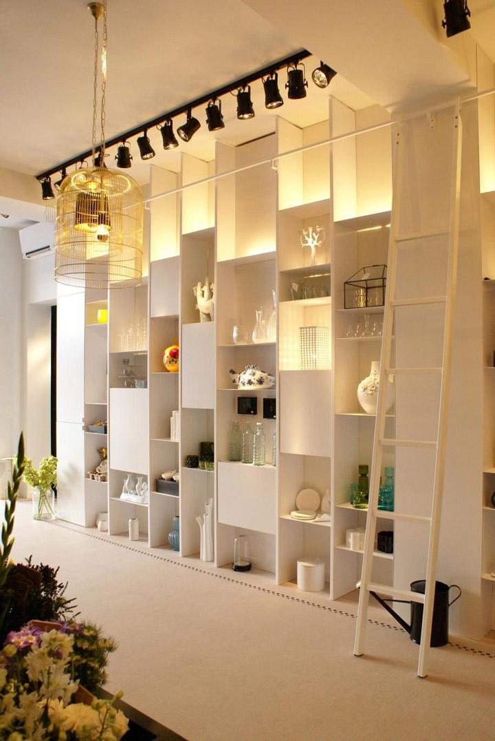 Bos Bloemen flower store by Juma Architects Ghent  Belgium