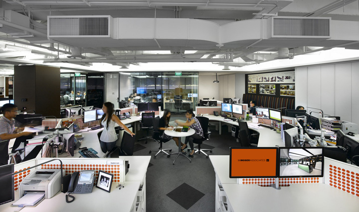 M Moser Associates offices Singapore