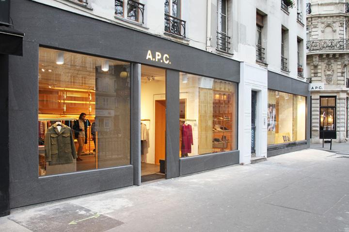 APC store by Laurent Deroo Paris
