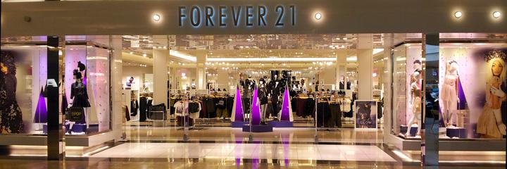 Forever 21 holiday windows Las Vegas