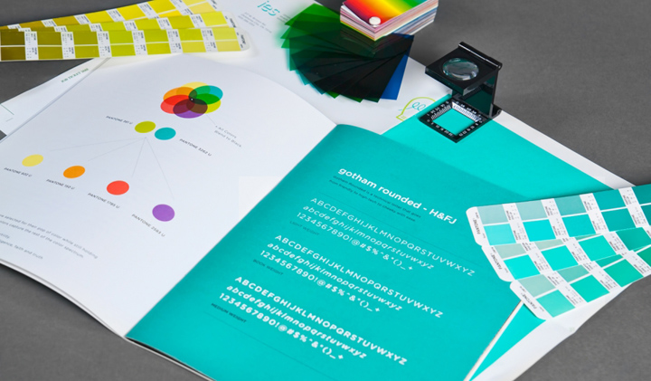 Innovative Event Solutions branding by Ghost  Retail Design Blog