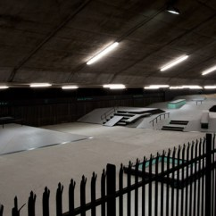 Large Pictures For Living Room Wall Modern With Leather Sofa Nike At Baysixty6 Skate Park By Brinkworth, London ...