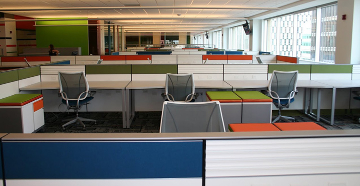 Quicken Loans offices Detroit  Retail Design Blog