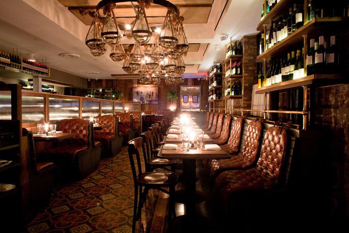 Felice bar by Robert McKinley New York