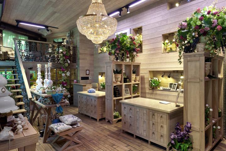 Fiori flower boutique by Studio Belenko Kiev