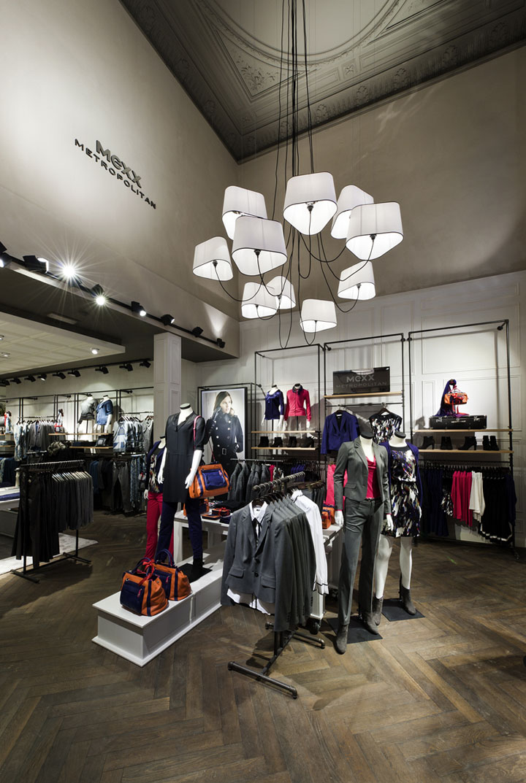 Mexx Metropolitan store Gent  Belgium  Retail Design Blog