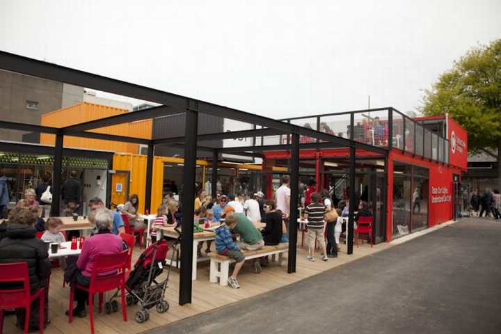 SHIPPING CONTAINERS ReSTART Shopping Mall