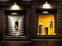 Fendi shop windows, Milan  Retail Design Blog