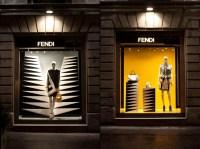 Fendi shop windows, Milan  Retail Design Blog