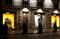 Fendi shop windows, Milan