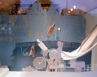Hermes window display 2013, Paris