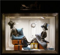 Herms workshop window display by Kliment v Klimentov ...