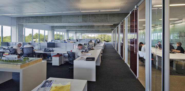 ARCHITECTURE FIRM OFFICES PerkinsWill Office Atlanta