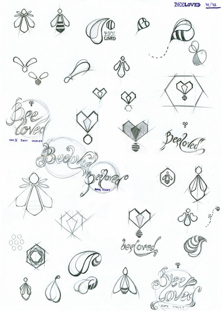 » BEEloved branding by Tamara Mihajlovic