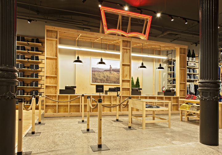 Levis Store By MBH Architects New York 10