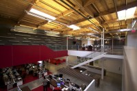 TVGla warehouse office by Charles Infante, Los Angeles