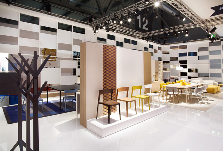 calligaris stand at salone del mobile 2013 by nascent