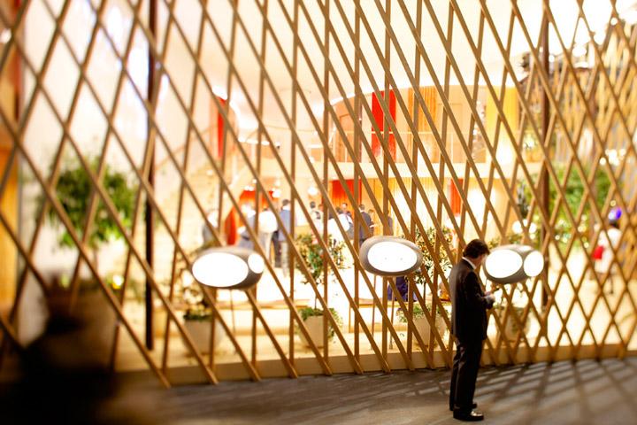 Hermes La Montre pavilon by Toyo Ito Basel Switzerland 04 Hermès La Montre pavilon by Toyo Ito, Basel   Switzerland