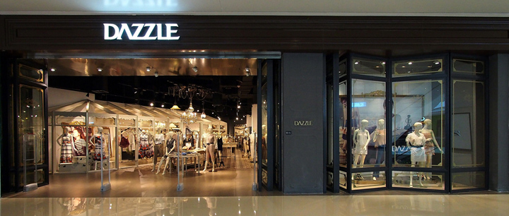 Dazzle Store By Purge China