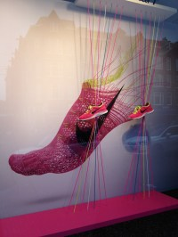 Nike windows by ConFetti, Amsterdam