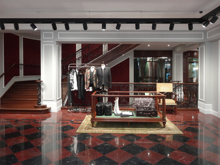 Dolce & Gabbana Men's Store London Retail Design Blog