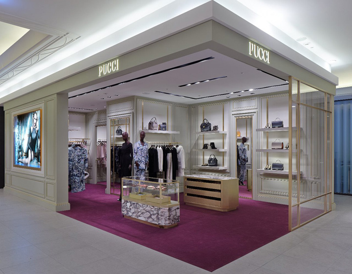 chair design icons covers in dubai emilio pucci boutique at hankyu umeda, osaka » retail blog
