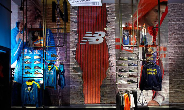 New Balance store by KNOCK New York