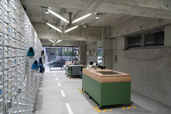FREITAG store in Shibuya by spillmann echsle architekten Torafu Architects Tokyo 03 FREITAG store in Shibuya by spillmann echsle architekten & Torafu Architects, Tokyo