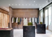 Giada fashion boutique by Claudio Silvestrin, Milan  Italy