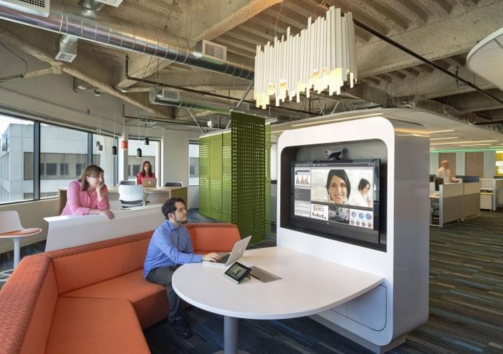 work environments  Retail Design Blog