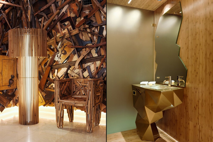campana brothers favela chair studio chairs stools new hotel by the athens greece famed sibling design duo