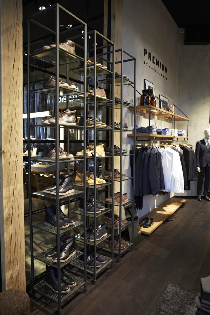 Jack  Jones store by Riis Retail Kolding  Denmark