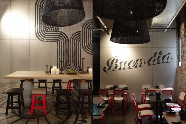 kitchen banquette ideas large table » méjico restaurant & bar by juicy design, sydney – australia