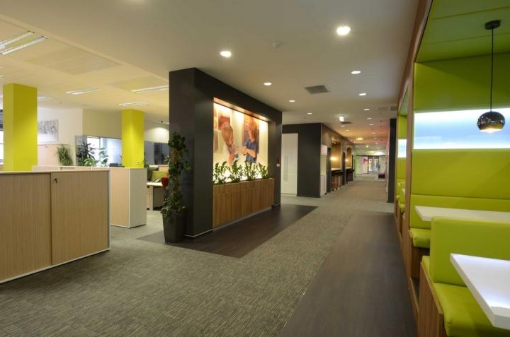 Reckitt Benckiser head office by Lima Europe ltd Budapest  Hungary