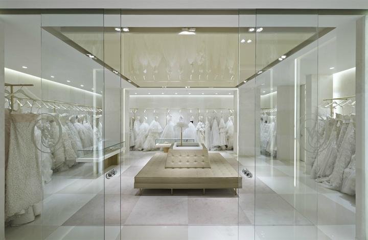 Vakko Wedding Store At Suadiye By Autoban Istanbul Turkey 05 Retail Design Blog