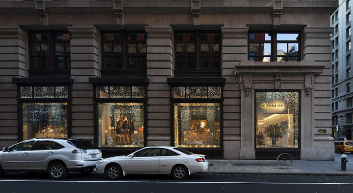 Coach flagship store at 5th Avenue New York City
