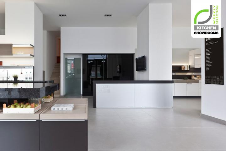 Kitchen Showrooms Poggenpohl Design Center Milan Italy Retail