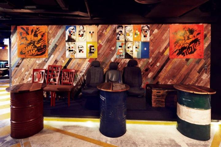 ART BAR nightclub Singapore  Retail Design Blog