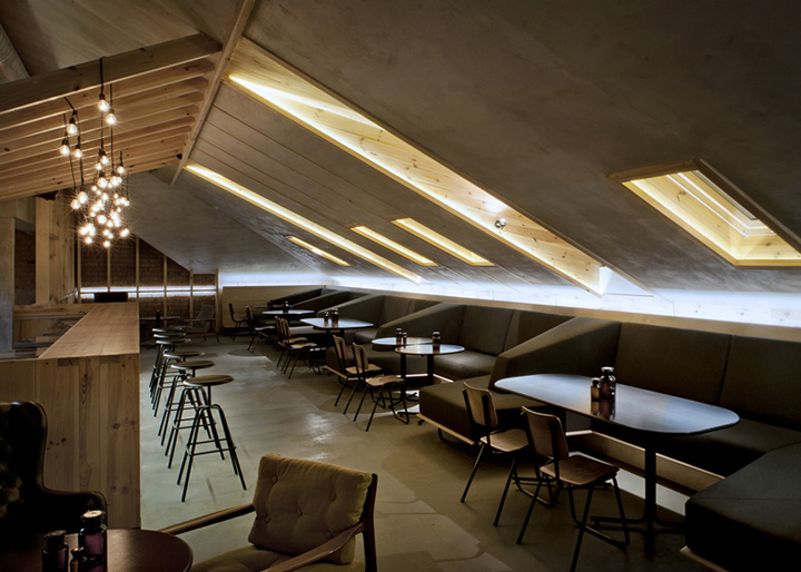 ATTIC bar by Inblum Architects Minsk  Belarus