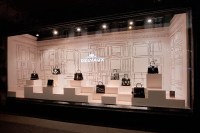 DELVAUX window display at Galeries Lafayette by frank