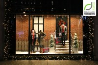 GANT Christmas Shop Windows London!  Retail Design Blog