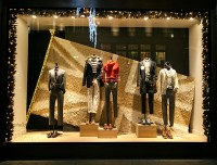 J.Crew Christmas Shop Windows London!