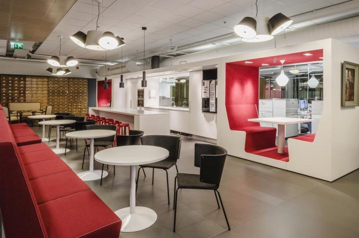 Alma Media headquarters by GullstnInkinen Design  Architecture Helsinki  Finland