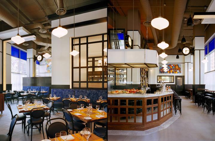 Brasserie Beck by Core Architecture Washington DC
