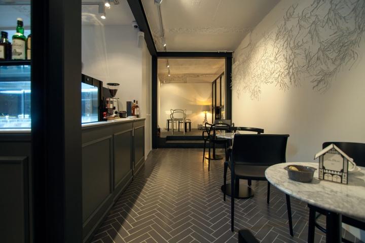 Dessert Cafe Pied by Nordic Bros Design Community Seoul  South Korea