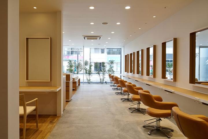 Hair Do hair salon by Ryo Matsui Architects Chiba  Japan