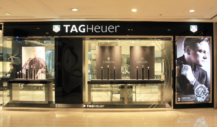 TAG Heuer store by Merx  Kingsmen Singapore